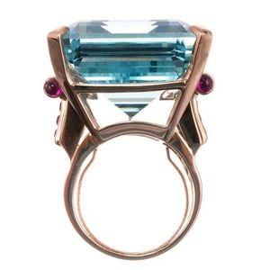 Jewelry - BIG BLUE CZ Ring